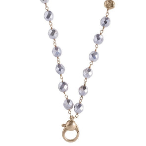 Ensemble Necklace - Bright Silver - 28 Inch