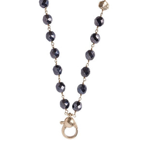 Ensemble Necklace - Hematite - 28 Inch