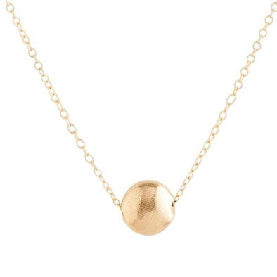 "16"" Necklace Gold - Honesty Small Gold"