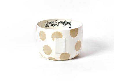 Neutral Dot Happy Everything Big Bowl STORE PICK UP ONLY
