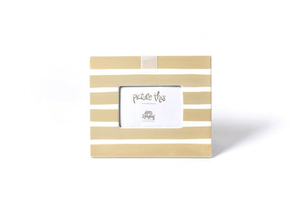Neutral Stripe Mini Happy Everything Frame