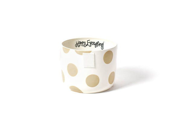 Neutral Dot Happy Everything Mini Bowl STORE PICK UP ONLY