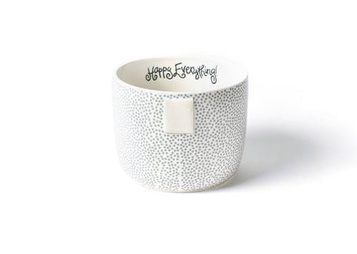 Stone Small Dot Happy Everything Mini Bowl STORE PICK UP ONLY