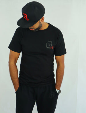 Men's Black Dri-Power® Basic Crewneck Tee