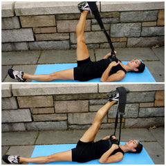 Supine Hamstring Stretch