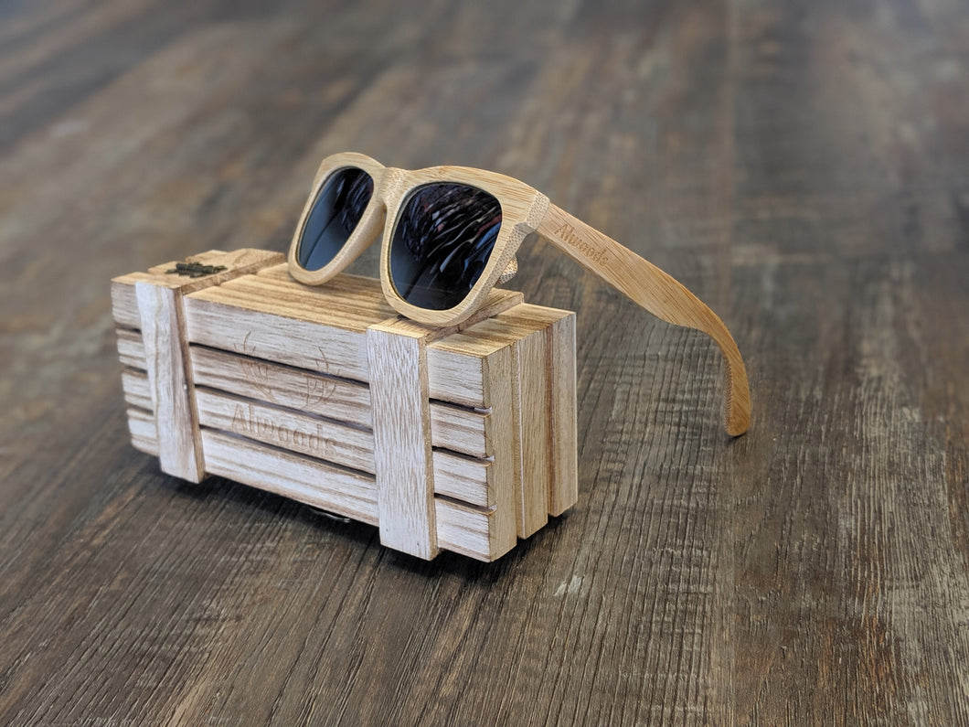 Maple wood sunglasses