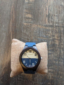 Alwoods color wrist and wood watch