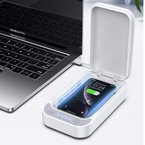 Black Fin® UVC Phone Sanitizer & Charger