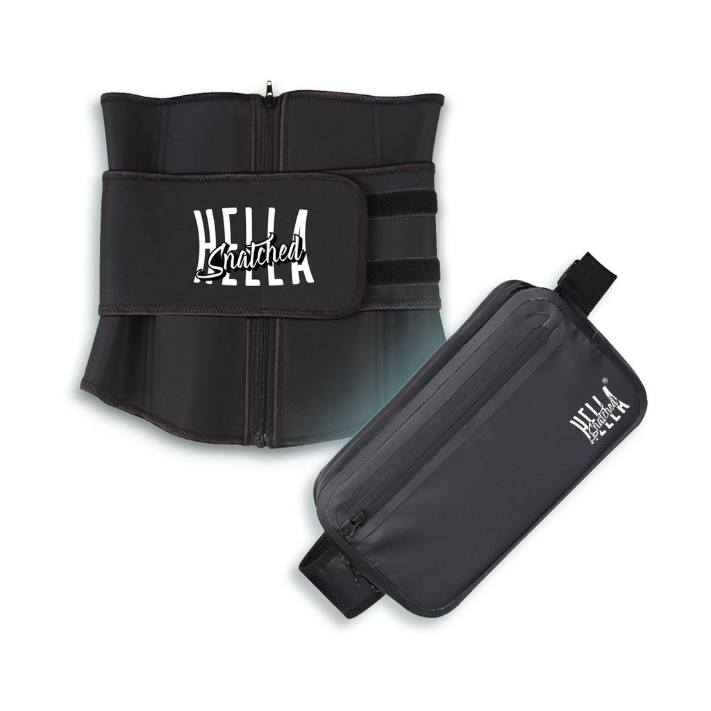 Fitness Waist Trainer + Shoulder Bag