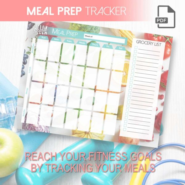 image regarding Meal Tracker Printable named Supper Prep Tracker Printable