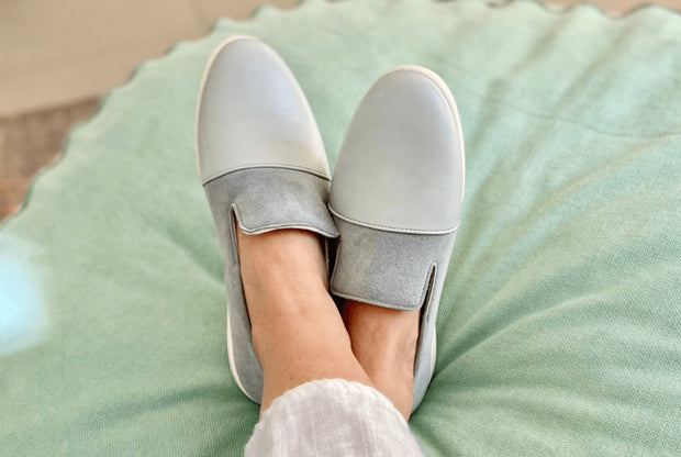 House Loafers | Blue / Grey 1