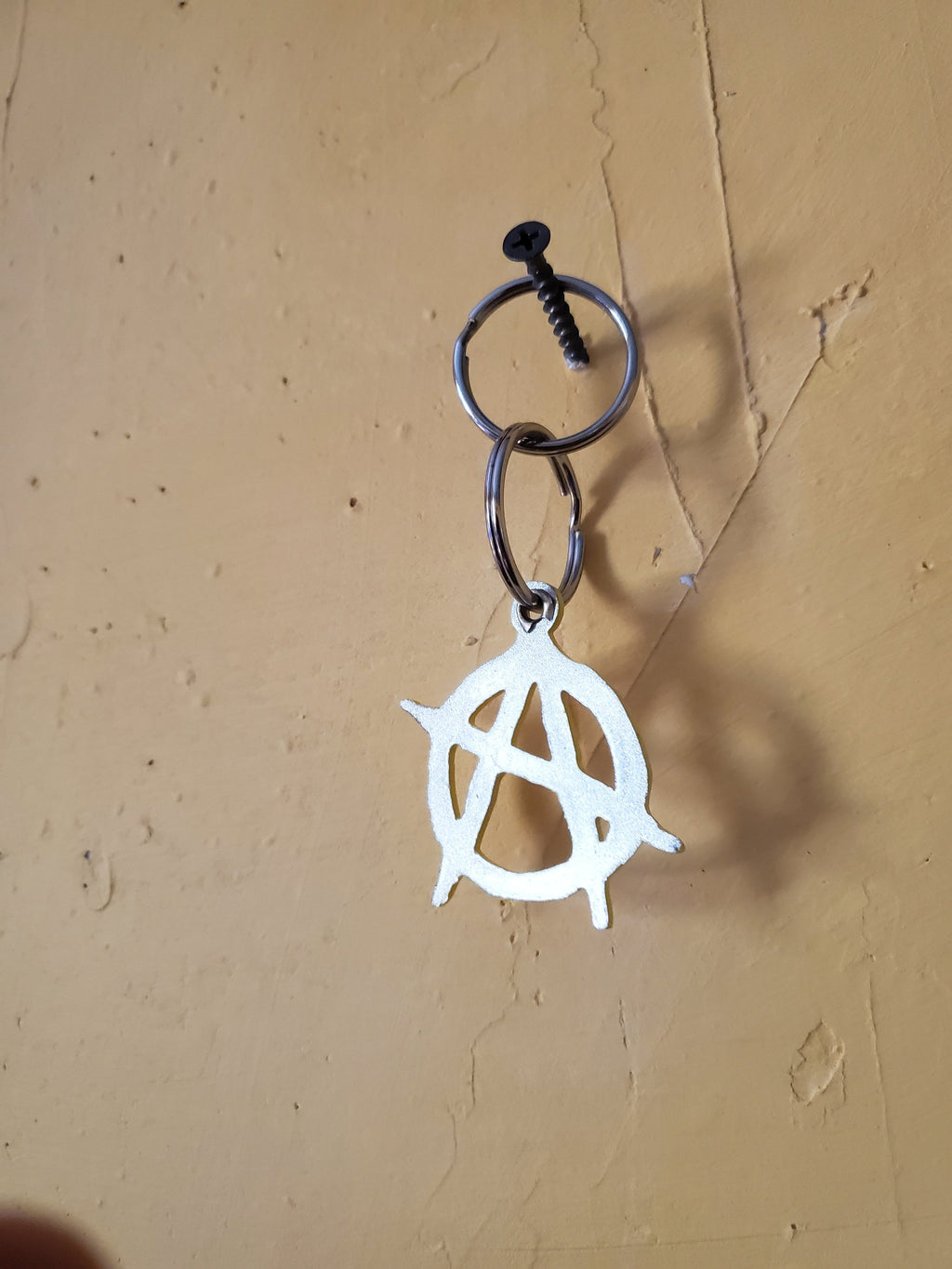 Anarchy Sign Keychain