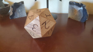 Large D20 Novelty Container