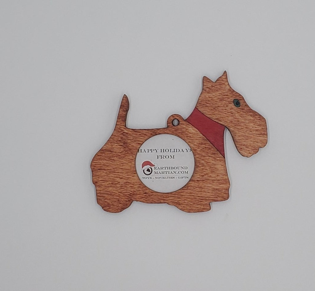 Puppy Dog Picture Frame Ornament