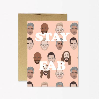 Stay Fab greeting card