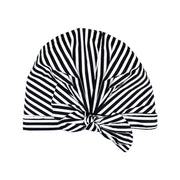 stripe shower cap