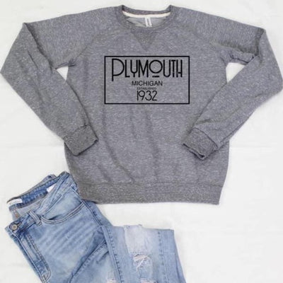Hometown Sweatshirt-Plymouth