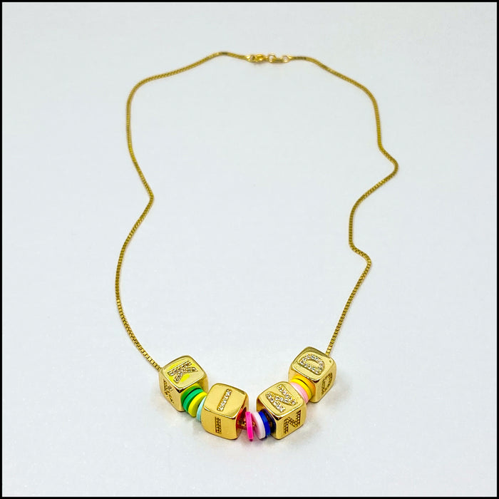 Kind Disc Necklace