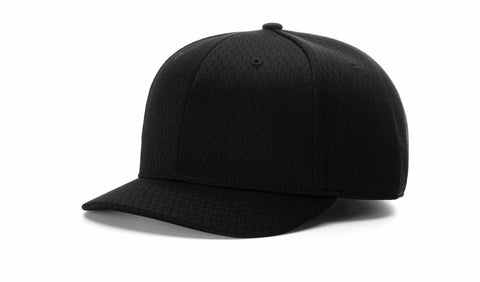 Richardson Adjustable Black Mesh Cap