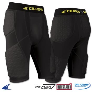 Champro Tri Flex Compression Shorts with Cup Pocket