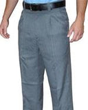 Smitty Non Expander Pleated Base Pants-Heather Grey