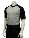 Smitty V Neck Referee Shirt with Black Side Panel