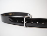 Boston Patent Leather Belt - 1 3/4""