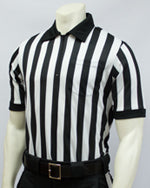 Smitty Performance Body Flex Collared Striped Shirt
