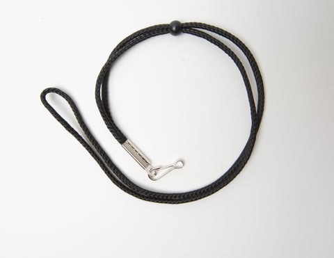 Black Lanyard w/ Ball-Slide