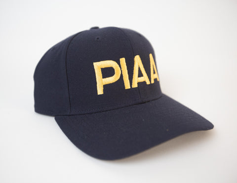 PIAA Navy Long Base Fitted Cap