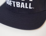 USA Softball Fitted 6 Stitch Cap