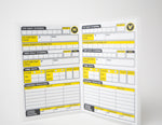 Women's RefSmart Lacrosse Game Card