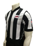 Smitty VHSL V-Neck Body Flex Referee Shirt