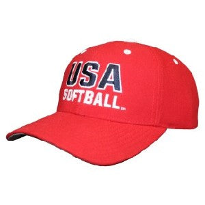 USA Softball Adjustable Casual Cap