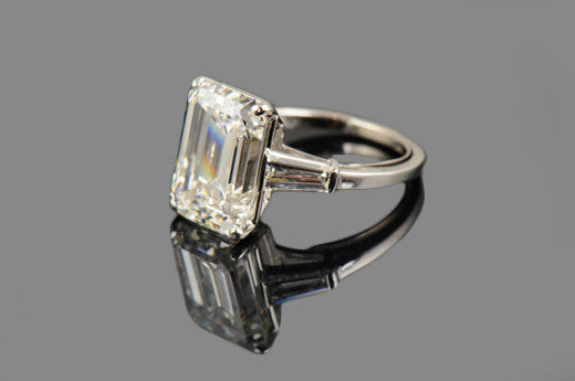 mywedding love barbonne cut rings lifetime for on emerald to a victor platinum ring diamond finger engagement