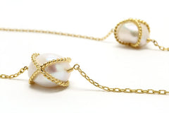 Pearl Kiss Necklace