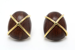 Ebony Kiss earrings