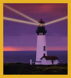 SKU : 00091 - Lighthouse Sunset - Magnetic Bookmark