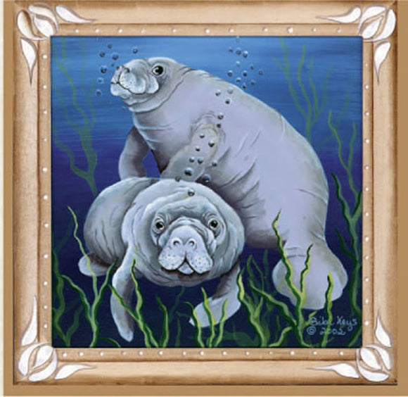 SKU : 02014 - Manatee - Magnetic Bookmark
