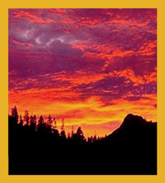 SKU : 06036 - Sunset at Lake Tahoe - Magnetic Bookmark