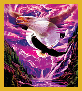 SKU : 06335 - Eagle Spirit - Magnetic Bookmark