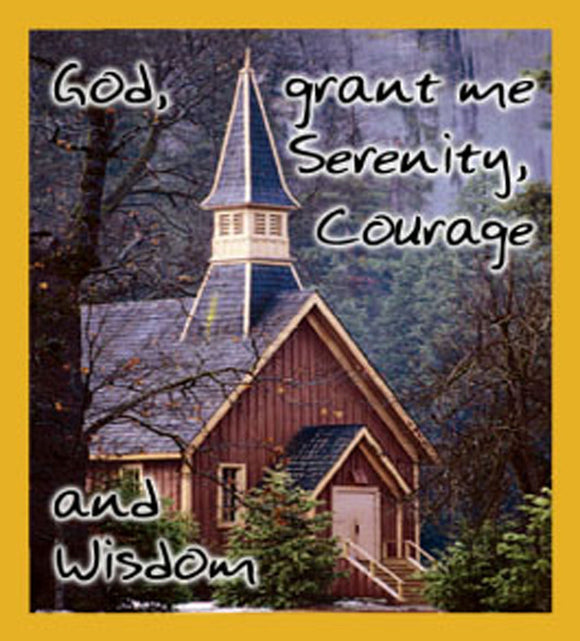 SKU : 06395 - Serenity Prayer - Magnetic Bookmark