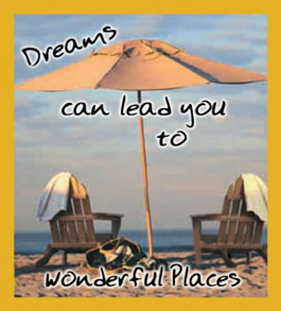 SKU : 06420 - Dreams Can Lead You - Magnetic Bookmark