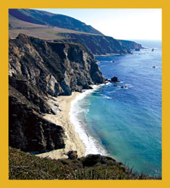 SKU : 06494 - Big Sur Coast - Magnetic Bookmark