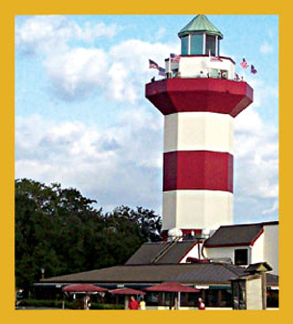 SKU : 06621 - Harbour Town Lighthouse - Magnetic Bookmark