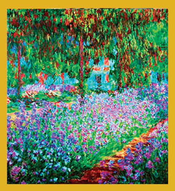 SKU : 06914 - The Artist's Garden at Giverny (Monet) - Magnetic Bookmark