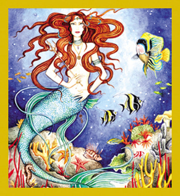 SKU : 07165 - Mermaid (Boticelli) - Magnetic Bookmark