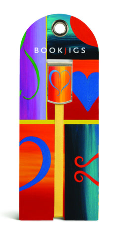 SKU : 1073 - Painted Heart - Bookjig