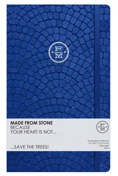SKU : 1339 - Cobalt - Stonepaper Notebook