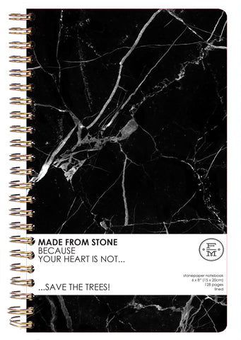 SKU : 1340 - Onyx - Stonepaper Notebook